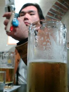 ビールとマッキー