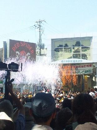 岸和田だんじり祭!